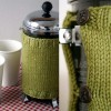 Tutorial Tuesday: Knitted French Press Cozy