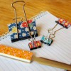 Tuesday Tutorial: Add Fabric to Those Boring Old Binder Clips