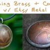 Tuesday Tutorial: Copper and Brass Etching