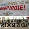 I made a cross stitch pattern! Save America Shop Indie!