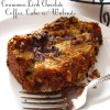 Need a Sugar Fixx? How About Cinnamon Dark Chocolate Coffee Cake w/ Walnuts?