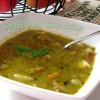Easy Peasy Split Pea Chowder!