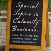 Guest Blog:  Special Topics in Calamity Business - How Do I Get My Giveaway/Contest Noticed?
