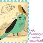 Feed Your Soul: the free art project download from Kelly Puissegur (retrowhale)