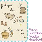 Feed Your Soul: the free art project download from Fritha Strickland