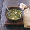 Brown Lentil and Swiss Chard Soup & Anzac Cookies from The Wholesome Kitchen