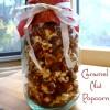 Handmade Holidays: Caramel Nut Popcorn