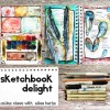 taking chances and sketchbook delight