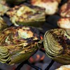 Bites and Morsels: Fire-Roasted Artichokes with Lemon Garlic Mayonnaise