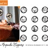 Halloween Printables: Cupcake Toppers and Treat Bag Free Downloads