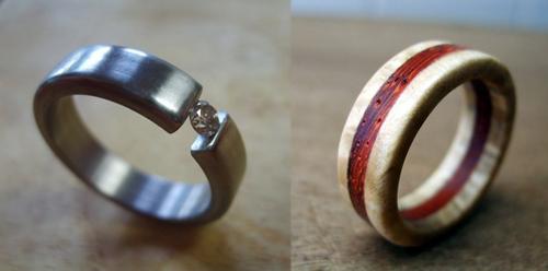 Indie Wedding Rings for Lauralai Indie Fixx