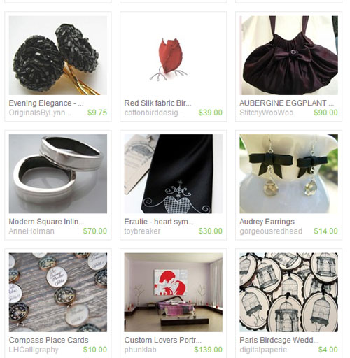 Indie Weddings on Etsy