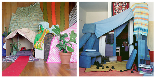 forts for kids. kids and we made forts out