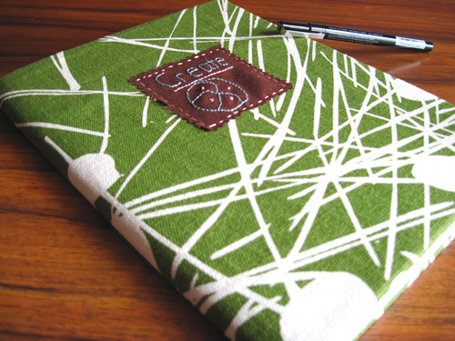 She's Crafty: Create Notebook with Amenity Home Fabric