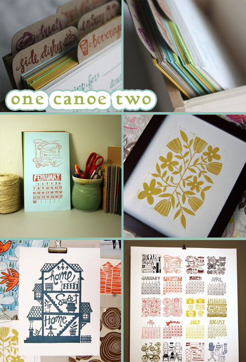 12 Days of Indie Holiday Shopping 2009 – One Canoe Two