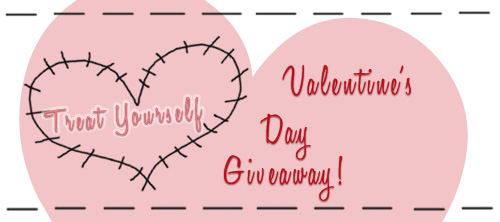 Treat Yourself Valentine's Day Giveaway!