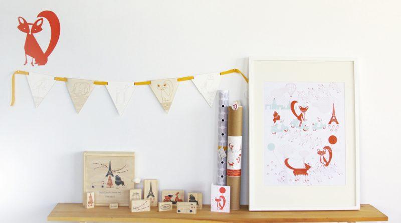 foxy friends by ink & wit