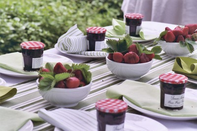 fruit tablescapes