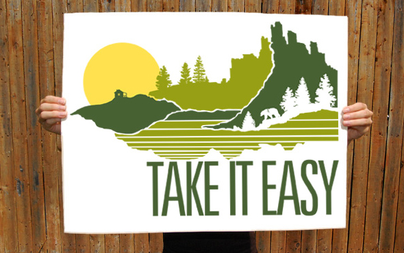 brainstorm take it easy poster