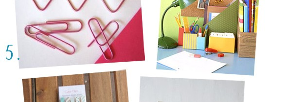 Back to School Guide: last day – diy school supplies
