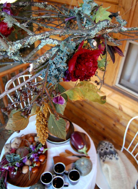 design*sponge wild thanksgiving decor