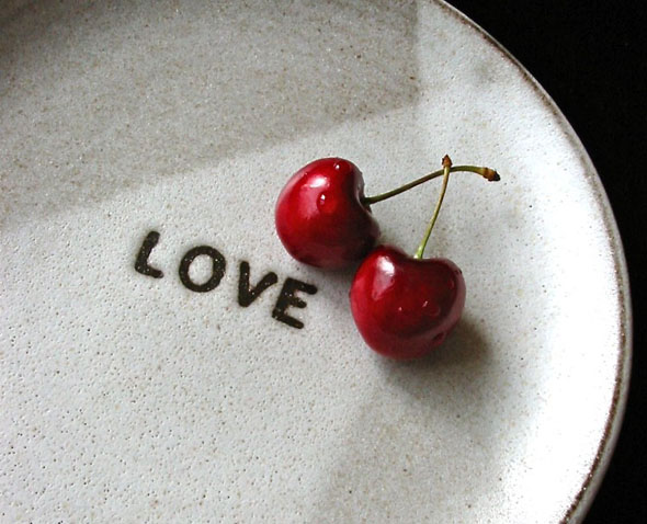 "love plate by Hideminy - ""creative tithing"""