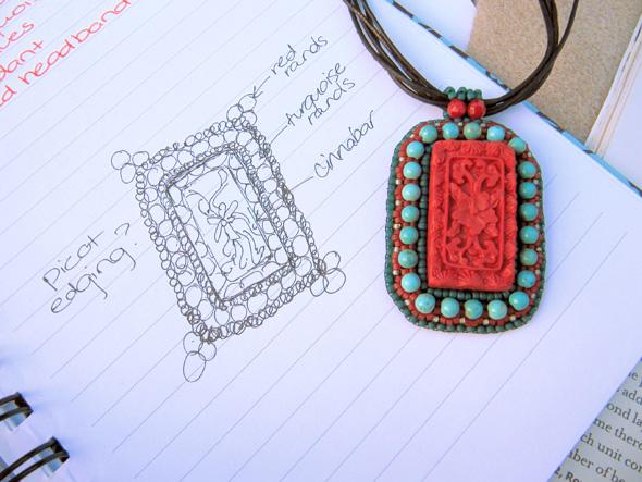 designer's sketcbook jewelry