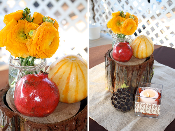 rustic thanksgiving tablescape - hostess with the mostess