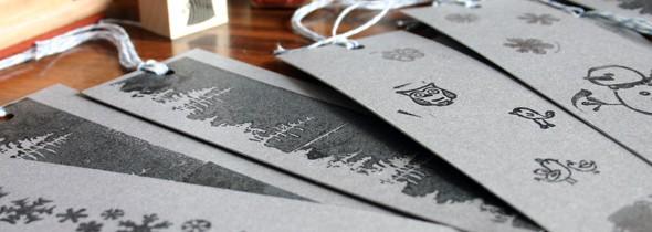 Handmade Holidays: diy bookmarks
