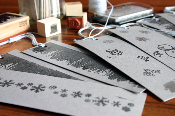 Handmade Holidays: diy bookmarks