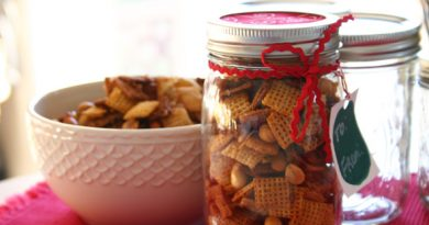 vegetarin chex cereal mix