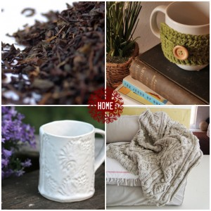 warm handmade holiday gifts - for the home