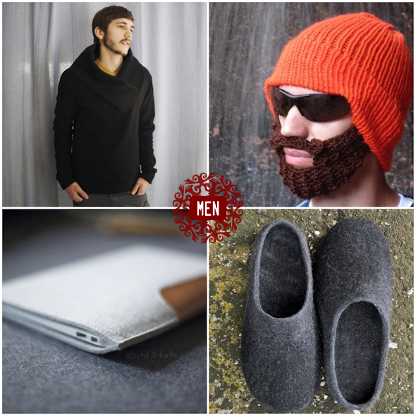 warm handmade holiday gifts - for men
