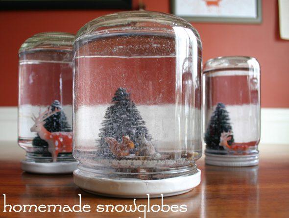 homemade snowglobes