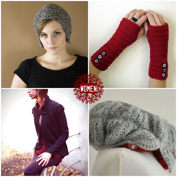 warm handmade holiday gifts - for women