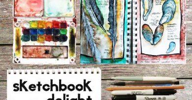 sketchbook delight art class with artist alisa burker