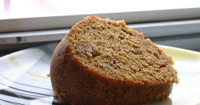 sweet potato cake made with johnnie walker