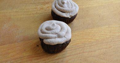 dark chocolate cupcake with nutella whipped cream recipe