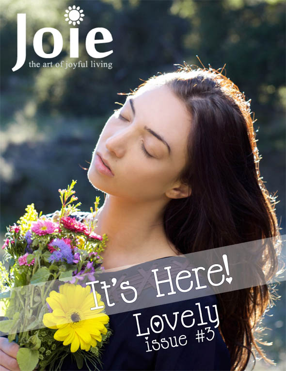 Joie magazine issue #3 cover