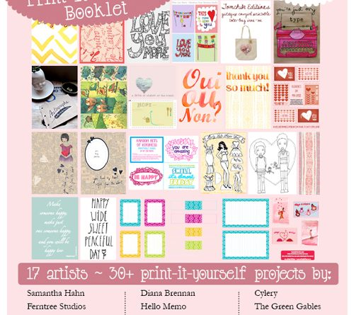 joie lovely print-it-yourself booklet