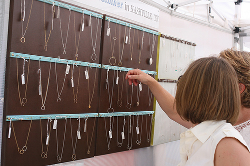 Craft Show Jewelry Display Ideas