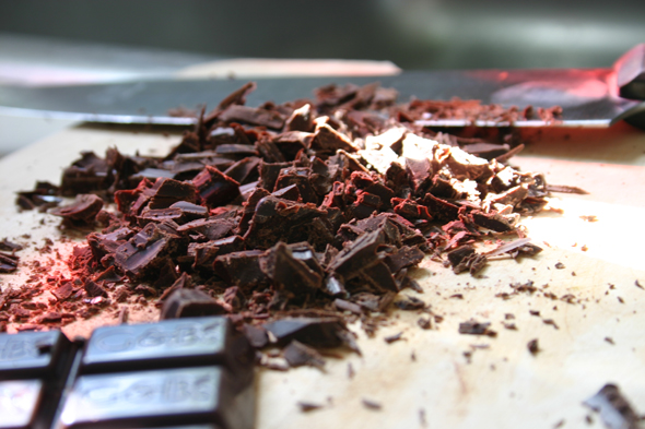 dark chocolate chunks