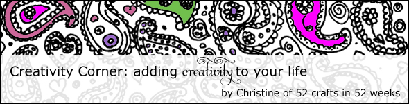 creativity corner: adding creativity to your life