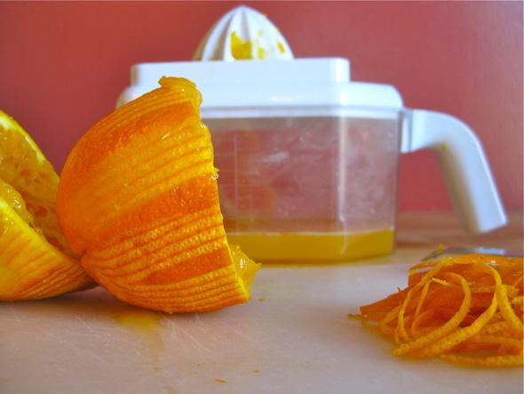Orange Scented Semolina Cake