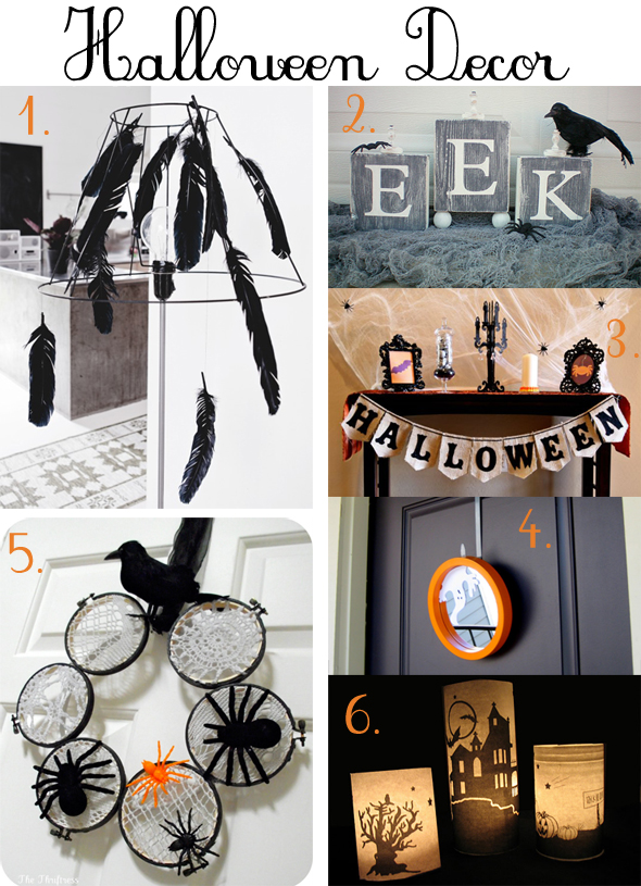 halloween party decoration ideas diy. Black Bedroom Furniture Sets. Home Design Ideas