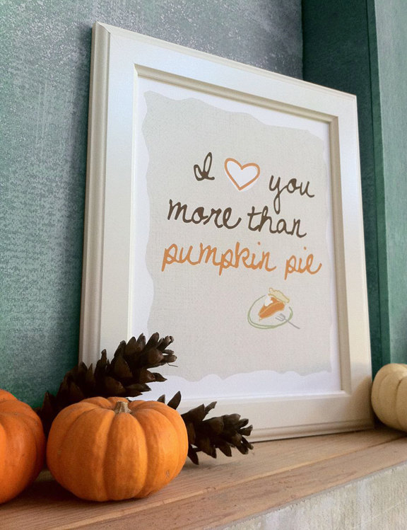 Pumpkin pie, staying home and what are you making?
