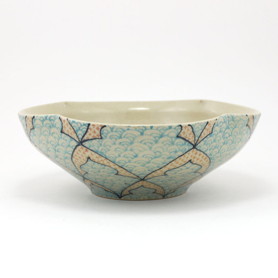 bowl-dawndishawceramics-blueandsalmon