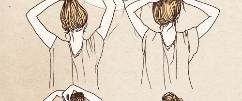 Updo How-to's from Samantha Hahn