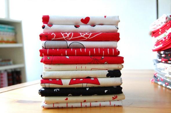 Creative Thursday printed fabrics.