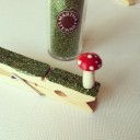 Glitter Clothespin Ornaments